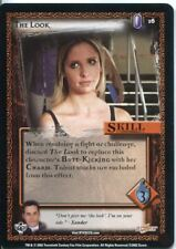Buffy CCG TCG Angels Curse Unlimited Edition Card #16 The Look