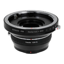 Fotodiox Pro Combo Lens Adapter Contax 645 (C645) Lens to Fujifilm X Mount