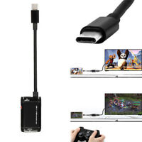 USB-C Type C to HDMI Adapter USB 3.1 Cable For Android Phone Tablet Black FG