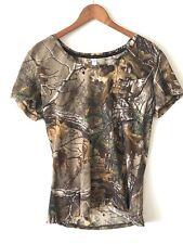 NWT Womens XL Under Armour Realtree Threadborne Early Season Camo T Shirt