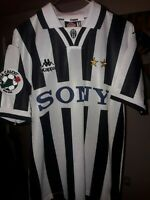 JUVENTUS KAPPA 1997 ALESSANDRO DEL PIERO AUTHENTIC JERSEY SIZE SMALL NEVER WORN