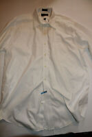 Roundtree Yorke Long Sleeve Button Down Shirt Mens 17-35 Egyptian Cotton