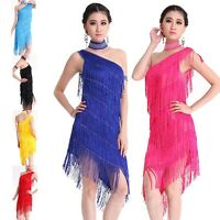 NEW Latin salsa Cha cha tango Ballroom Dance Dress 5 colors available#LD11