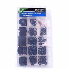 BlueSpot 225pc Metric Nitrile O-Ring Assortment Set 3-22mm Plumbing Seal Gasket