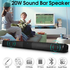 Wireless Sound Bar Stereo bluetooth Speaker Bass Home Theater Soundbar