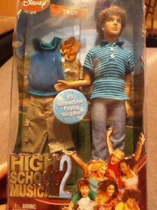 High School Musical 2 Troy doll - New in Package