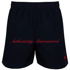 Ralph Lauren Mens Hawiian Trunks Swimming Short More Colour & Size M Black Red Pony