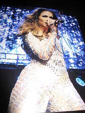 Jennifer Lopez Autographe Signé 8x10 Photo Concert Promo Stressin Booty Auto