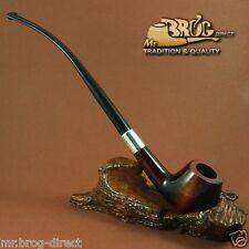 """Mr.Brog Pfeife Nr.59 Tabakpfeife Birnenholz Braun SW """" HOBBIT """" pipe pipa"""