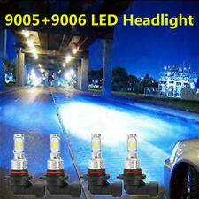 For 1999-2006 Chevy Silverado 1500 2500 3500 LED Projector Headlights Bulbs Kit