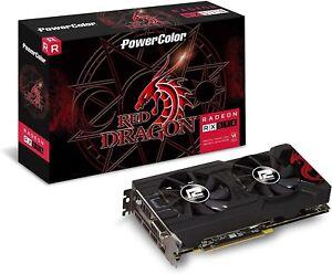 PowerColor AXRX 570 4GBD5-3DHD/OC Red Dragon Radeon Graphic Cards
