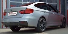 FMS 76mm SCARICO MARMITTA DOPPIO SPORTIVO BMW 320i 320ix 3er GT F34 PER