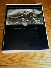 2001 Harley-Davidson Dyna Service Shop Manual Fxd Fxdx Fxdwg2 Fxdl Fxdi Fxdt (Fits: Harley-Davidson)