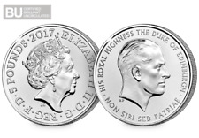 UK 2017 Prince Philip CERTIFIED BU £5 Coin [Ref H5BUC021]
