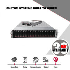 2U 24 bay 2.5 Supermicro Superchassis SC216E16-R1200LPB with Dual PS