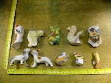 10 x excavated vintage victorian damaged animal parts German Altered Art B 529