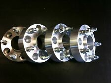 "4 Jeep Wrangler JK Rubicon Unlimited Wheel Spacers 1.5"" Hub Centric 5x5 6061 T6"