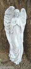 Gostatue guardian angel plaque latex w plastic backup concrete plaster mold