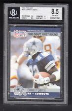Emmitt Smith 1990 Pro Set Rookie Card #685 Cowboys BGS 8.5 NMMT+