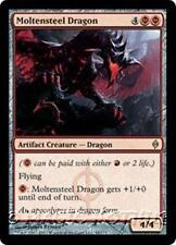 MOLTENSTEEL DRAGON New Phyrexia MTG Red Artifact Creature — Dragon RARE