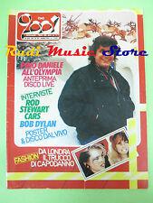 rivista CIAO 2001 52/1984 POSTER Dylan Pino Daniele Rod Stewart McCartney No cd