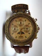 Original Camel Trophy Safari chronograph reloj fase lunar reloj pulsera Watch