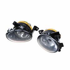 2pcs 55W Front Halogen Fog Lamp Light For 2010-2014 VW Touareg MK2 Pre-facelift