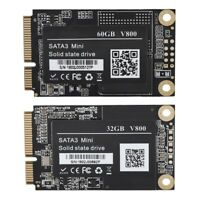 """mSATA3 1.8"""" SSD Hard Drive Disk Internal Solid State Drive 32/60G for Laptop FOY"""