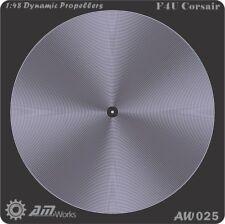 Alliance Model Works 1:48 Prop Blur Dynamic Propellers F4U Corsair Detail #AW025
