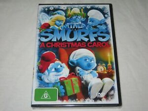 The Smurfs - A Christmas Carol - Brand New & Sealed - Region 4 - DVD