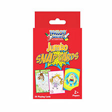 JUMBO PACK KIDS SNAP CARDS 12.3CM X 8.5CM APPROX 36 GREAT CARDS HOLIDAY GAME