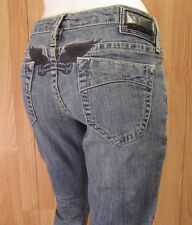 NEW AUTH. ROBIN'S JEANS BENSON SLIM SKINNY FIT WOMEN JEANS SZ 29 X 28 VIC-THOR1