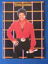 Tom Jones - Concert Tour Programme - 1983