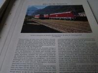 Deutsches Eisenbahn Archiv 23 4949 Baureihe 185 auch in der Schweiz zugelassen