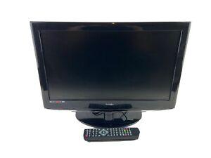 "Technika 22"" TV Black+remote+built In DVD Player VGC."