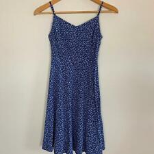 Old Navy Women's Blue Floral Rayon Cami Dress Sz XS A8-17 ~ Free AU Post!