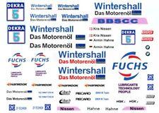 #5 Kris Nissen WINTERSHALL FUCHS BMW DTM 1/18th Scale Waterslide Decal