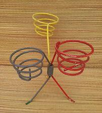 Antico porta pentole in filo ferro il anni 70, per déco vintage, design XX