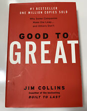 Good to Great, by Jim Collins Book