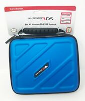 Nintendo Game Traveler Case Blue 3DS205 2DS/3DS R.D.S. Industries Inc. New