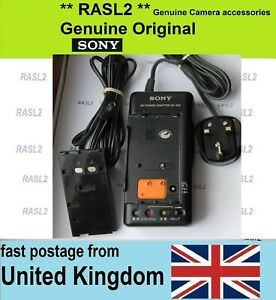 Genuine Sony AC-S10 AC Power Adapter / Battery Charger with DK-80 DC Coupler