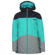 No Fear Powder Ski Jacket Ladies Full Zip Midnight / Teal UK 12 M B213