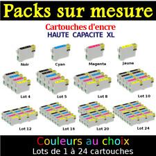 Cartouches compatibles NON OEM imprimante utilisant encre 551 552 553 554