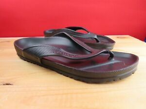 Birkenstock Honolulu Eva black sandals thongs size 40 L9 M7