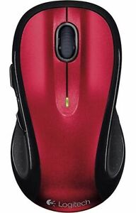Logitech M510 Wireless Laser Mouse  Red (NO RECEIVER) (IL/RT6-953-810-004790-UG)