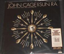 JOHN CAGE meets SUN RA the complete concert june 8 1986 USA 2-LP new CLEAR VINYL
