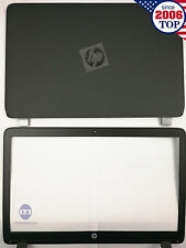 New HP Probook 450 455 G2 LCD Back Cover 768123-001 + Front bezel US Seller