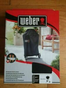 """Weber 7141 Premium Waterproof BBQ Cover Charcoal Kettle 18"""" / 47cm NEW"""