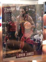 LeBron James 2017-18 Panini Prestige #16 BASE CAVALIERS Basketball Card