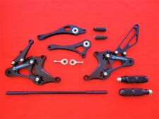 Honda CBR125 Rearset BLACK Gear + Brake Lever Pedal Etc  2004 - 2010 *UK STOCK*